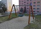 Venkovní hrací plocha s pískovištěm na ulici Lesní, Adamov I