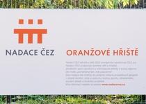 Oranžové hřiště ulice Mírová Adamov