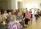 Beseda se seniory a obyvateli v DPS se starostou města