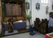 Světelský oltář opět kompletní