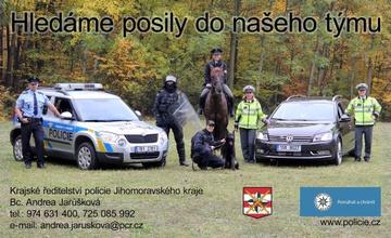 Hledáme posily do našeho týmu Policie ČR