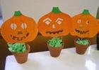 Výroba dekorace na Halloween