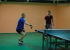 Utkání ve stolním tenise Adamov A - Svitávka A 9:9
