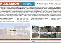 Infokanál TV Adamov nově i v HD rozlišení