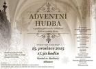 Adventní hudba v kostele sv. Barbory