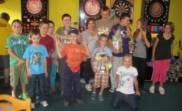 Šipkový turnaj pro děti v rámci akcí k MDD