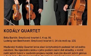 Kodály quartet v Rájci - Jestřebí