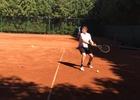 Předposlední zápas Spartaku Adamov v letošním ročníku tenisové soutěže
