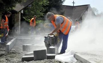 Zahájení stavebních prací – Hybešova