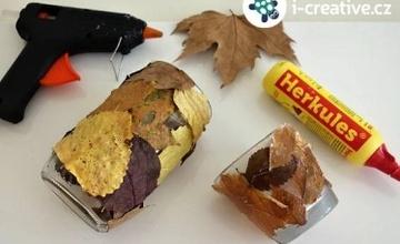 Výroba podzimních lucerniček