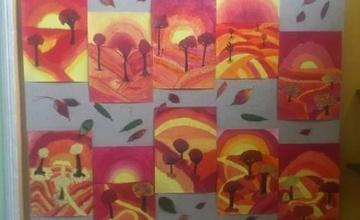 """Malujeme """"Podzimní svítání"""""""