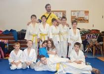 Judistický turnaj v sokolovně