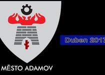 Adamovský infokanál - videoreportáž - duben 2017