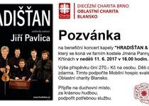 Benefiční koncert Hradišťanu ve Křtinách