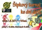 Šipkový turnaj ke dni dětí
