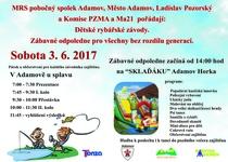 Dětské rybářské závody u splavu a zábavné odpoledne na Sklaďáku