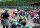 Oslava Dne dětí na tenisových kurtech 2017