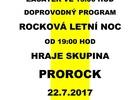 Gulášový festival na Sklaďáku / Rocková letní noc se skupinou Prorock