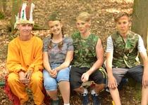 Rozloučení se školním rokem - Pohádkový les