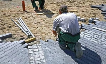 Zahájení stavebních prací – oprava komunikace