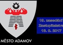 19. zasedání Zastupitelstva města Adamova