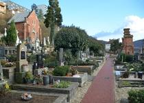 Zahájení stavebních prací – oprava chodníků na starém hřbitově, 3. etapa