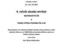 Informace k uzavírkám komunikací v souvislosti se závody minikár a omezení provozu MHD v době uzavírky