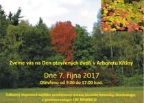 Den otevřených dveří v Arboretu Křtiny