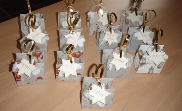 Taštičky na dárky