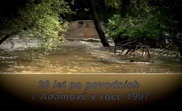 Premiéra dokumentu POVODNĚ 1997 V ADAMOVĚ