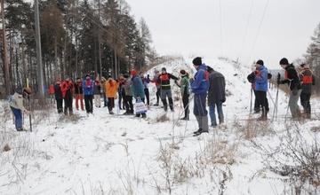 Otevřený přebor města Adamova v běhu na lyžích