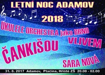 Letní noc Adamov 2018 - hřiště Ronovská