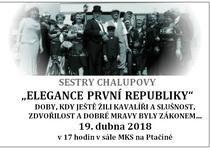 """ELEGANCE PRVNÍ REPUBLIKY"""