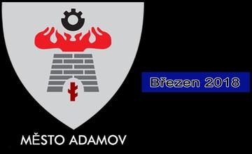 Adamovský infokanál - videoreportáž - březen 2018