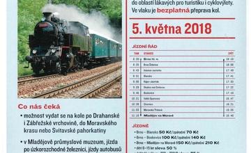 Parním vlakem z Brna na sever