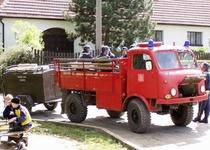 Na kole za hasiči