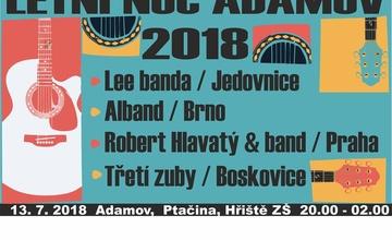Letní noc Adamov 2018