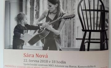 """SÁRA NOVÁ - akustický koncert, premiéra videoklipu k písni """"Změna"""""""