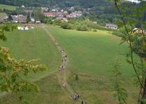 Na kole na Holštejnské slavnosti