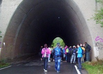 Ohlednutí za vycházkou Pochod po dálničním tělese R 43 turistického oddílu Spartaku Adamov, z.s.
