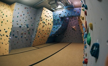 Horolezecká stěna v MKM