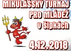 Mikulášský turnaj pro mládež v šipkách