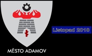 Adamovský infokanál - videoreportáž - listopad 2018