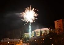 Novoroční ohňostroj ve fotografiích
