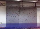 Lezecká boulderingová stěna v Městském klubu mládeže