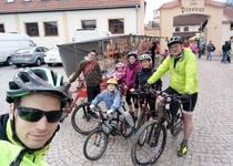 Fotografie z cyklovýletu zahájení turistické sezóny v Černé Hoře