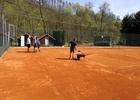 Tenisové kurty SPARTAKU ADAMOV, z. s. připraveny na další sezonu