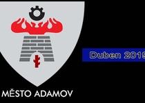 Adamovský infokanál - videoreportáž - duben 2019