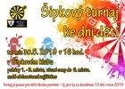 Šipkový turnaj pro mládež do 15 let v rámci akcí k MDD