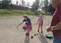 Sportovní den s pétanque ve škole
